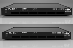 HDMI4CH多重長距離伝送装置